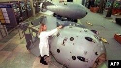 نخستین بم اتمی روسیه که در سال ۱۹۴۹ آزمایش شد