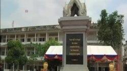 柬埔寨紅色高棉受害者紀念碑落成揭幕