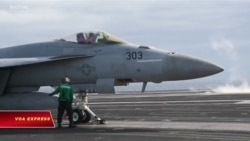 Hải quân Mỹ phô diễn lực lượng giữa căng thẳng với Iran