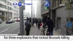 VOA60 World PM - Belgian Police Hunt for Brussels Attack Suspect