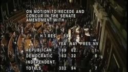美國國會眾議院通過聯邦政府預算案
