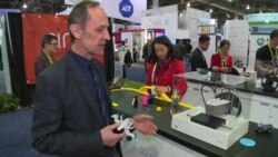 3-D Printers, Robots on Display at Vegas CES Show