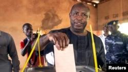 Mshindi wa Uchaguzi Mkuu Burundi Evariste Ndayishimiye