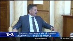I dërguari amerikan për të drejtat e LGBT në Kosovë