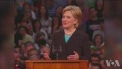 卷土重来,克林顿击破玻璃天花板
