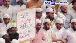 Manchetes Mundo 25 Novembro: Manifestações no Bangladesh pela minoria muçulmana Rohingya