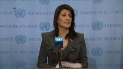 Haley Refutes Iranian Government Accusation That 'Enemies' Are Stoking Protests