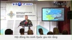 Chính phủ Ukraine và điện Kremlin đồng ý thỏa thuận ngừng bắn (VOA60)