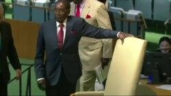Mugabe Calls on US President To Trumpet Peace Not Damnation