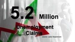 超過520萬美國人上週申請失業救濟