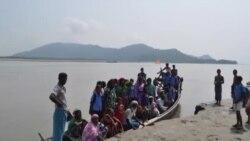 মিয়ানমার থেকে হিন্দু শরনার্থীর ঢল