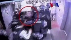 Escenas de la captura del alcalde Ledezma