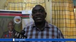 Mgombea urais wa Kenya Ekuru Aukot akimwaga cheche zake kuelekea uchaguzi mkuu mwaka huu