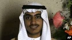 In this image from video released by the CIA, Hamza bin Laden is seen as an adult at his wedding. The never-before-seen video of Osama bin Laden's son and potential successor was released Nov. 1, 2017, by the CIA.