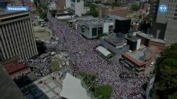 Venezuela'da Dev Gösteriler