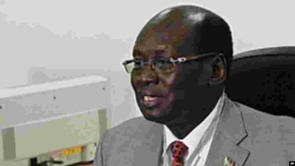 A year after the agreements were signed, South Sudanese Foreign Minister Barnaba Benjamin Marial said Sudan has blocked progress on a key issue: a referendum on Abyei's status.