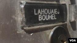 Boîte aux lettres de Mohamed Lahouaiej Bouhlel à Nice.