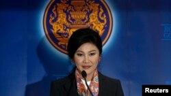 Smenjena premijerka Tajlanda Jingluk Šinavatra