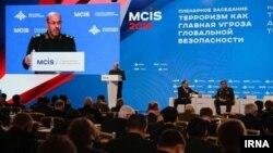 سخنرانی حسین دهقان در کنفرانس امنیت بین المللی مسکو