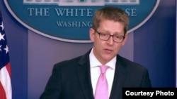 白宫发言人卡尼 (白宫视频截图)