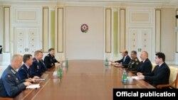 Prezident İlham Əliyev NATO Müttəfiq Qüvvələrinin Avropadakı Ali Komandanı Tod Volterslə görüşüb