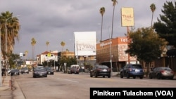 Thai Town in Los Angeles is located in East Hollywood district, a six-block area onHollywood Boulevard between Normandie Ave and Western Ave.
