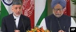 امضأی توافقنامۀ همه جانبۀ ستراتیژیک با هند
