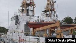 Island ship patrol boat
