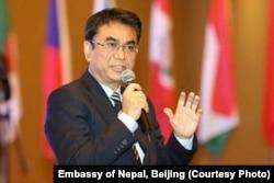Nepal Ambassador to China Mahesh Maskey.