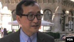 Nhà lãnh đạo đối lập Campuchia Sam Rainsy