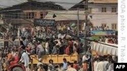 Người Kashmir biểu tình chống Ấn Ðộ