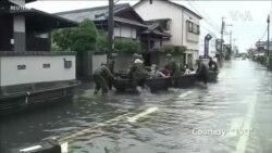 日本西南部水災造成至少50人喪生
