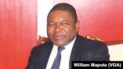 Le président Filipe Nyusi, Maputo, 17 jnvier 2017.