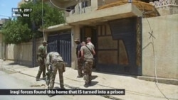 Iraqi Forces Find House IS Used to Imprison Enslaved Yazidis