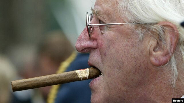 The late TV entertainer Jimmy Savile is now at the center of a pedophilia investigation in Britain