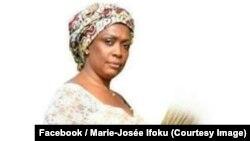 Marie-Josée Ifoku, l'unique femme candidate à la présidentielle en République démocratique du Congo, sur une photo publiée le 21 août 2018. (Facebook/Marie-Josée Ifoku)