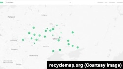 Карта Recycle Map