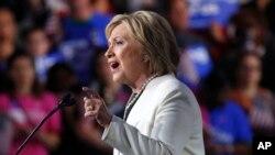 Demokrat iddialı Hillari Klinton