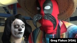 Comicpalooza appeals to people who love to dress up as fantasy characters, known as cosplayers, in Houston.