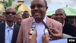 Ethiopian Prime Minister in Native Town for Elections