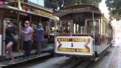 Wisata Trem Khas San Francisco Sempat Terganggu Perbaikan
