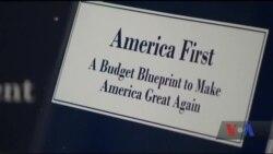 Президент Трамп подав до Конгресу ключові пункти проекту державного бюджету на 2018 рік. Відео