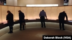 The museum contains rare biblical texts and ancient artifacts. The museum also has what it says are fragments of the Dead Sea scrolls.
