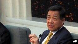 中共重慶市委書記薄熙來會見媒體