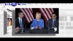 Hillary Clinton chế giễu lời chỉ trích tác phong của bà (VOA60)