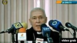 El arzobispo de Cumaná, Diego Padrón, es presidente de la Conferencia Episcopal Venezolana, que envió una carta al presidente Nicolás Maduro pidiéndole que retire la convocatoria a una Asamblea Nacional Constituyente.