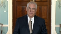 Tillerson: 'Ease The Blockade on Qatar'