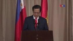 Việt Nam và Philippines nâng tầm quan hệ chiến lược