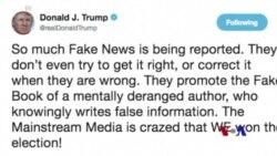 Trump Nivîskarê Pirtûka Ser Wî Weşandî Rexne Dike