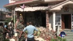 尼泊尔地震确认死亡人数上升到3700